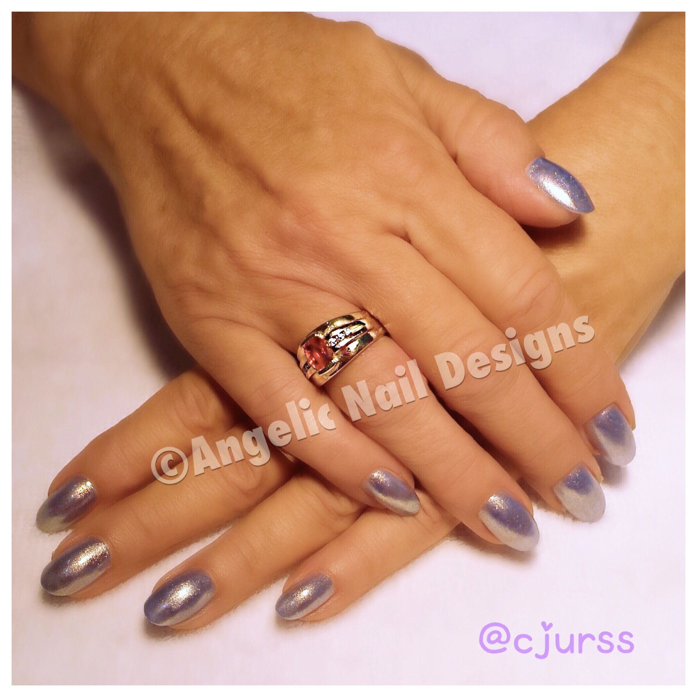 The pictured nails are Artistic Nail Design Rock Hard Liquid and ...