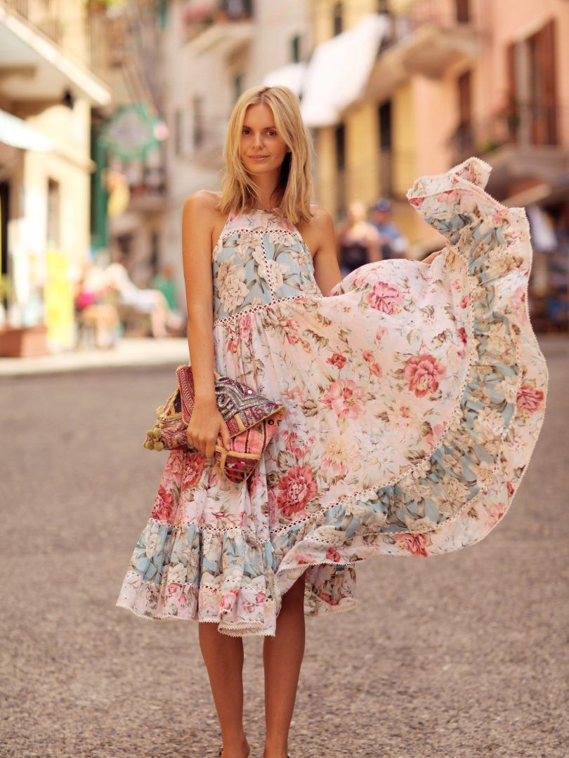 Midlength flare dress ideas to resume the style u designers outfits