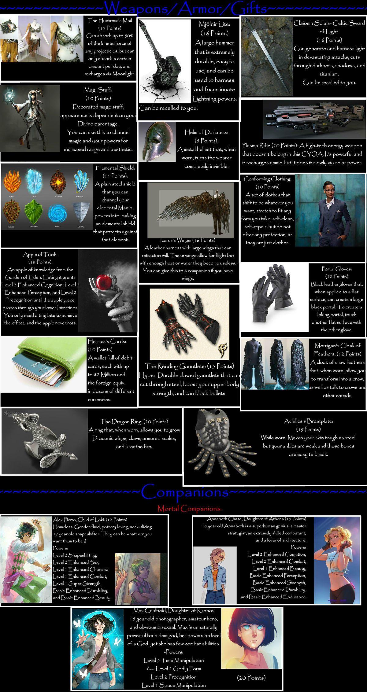 Demigod Cyoa - V1 1   Ideas   Cyoa, Create your own