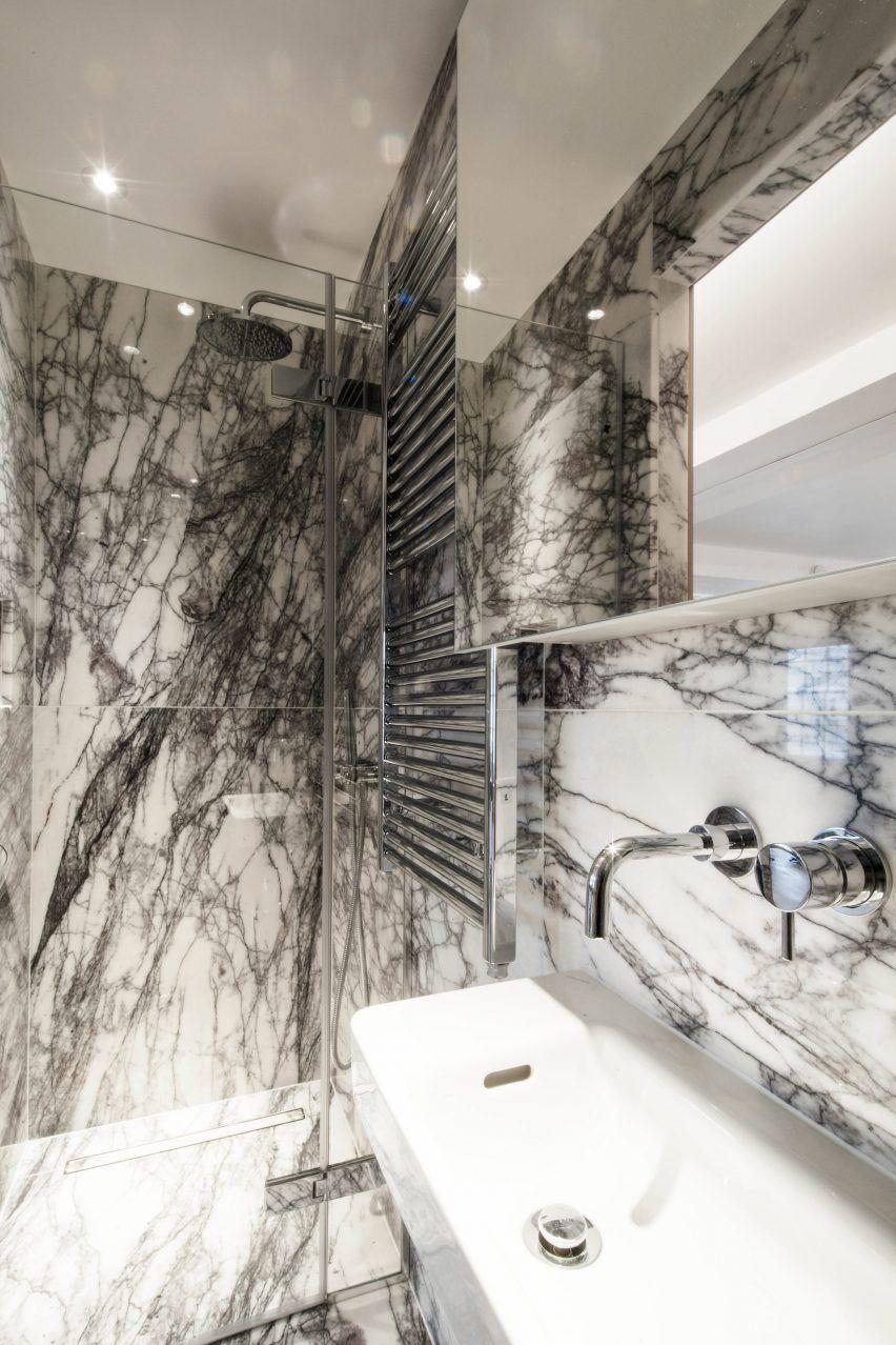 Sirs Linien Renovierte London Wohnung In Platten Aus Marmor Und Eiche Renovieren Haus Dekoration Und Haus