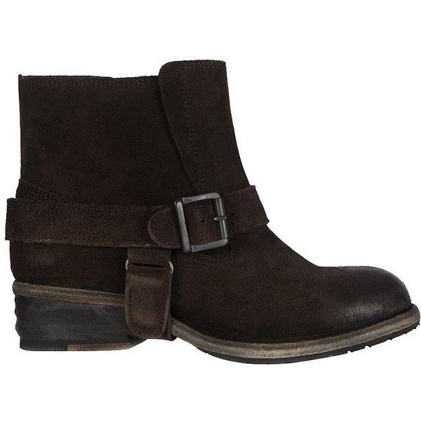 AllSaints Jules Biker Boot ($295) ❤ liked on Polyvore