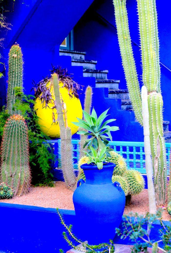 Jardins De Majorelle Marrakech Voyage Au Maroc Jardin