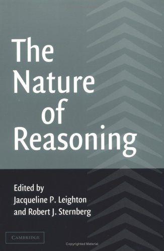 The Nature of Reasoning by Jacqueline P. Leighton, http://www.amazon.com/dp/0521009286/ref=cm_sw_r_pi_dp_qDf7qb0GX7ARM