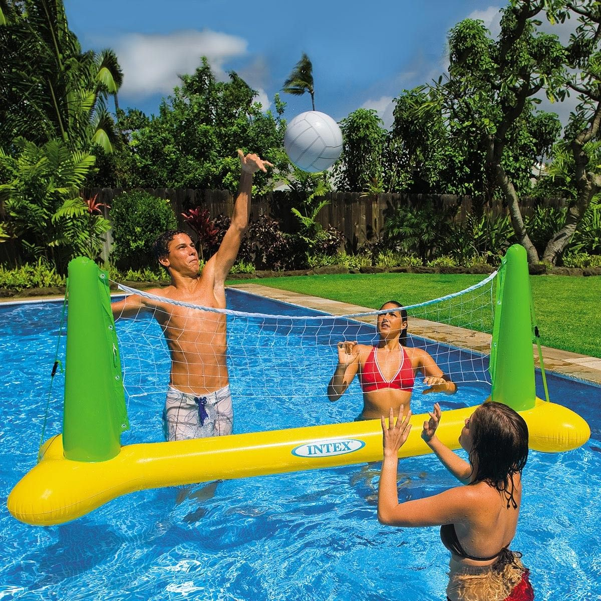 Intex Inflatable Pool Volleyball With Images Swimming Pool Accessories Swimming Pool Games