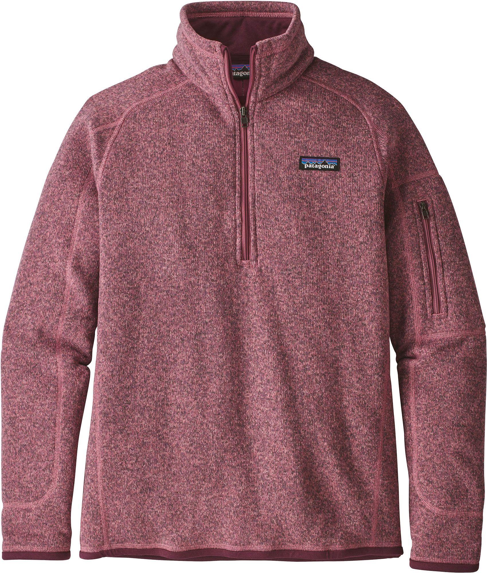 Patagonia Women s Better Sweater Quarter Zip Fleece Jacket in 2019 ... 1f7e04697