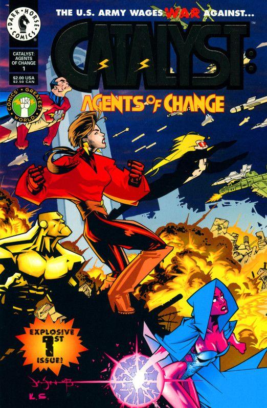 Imgur Agent of change, Dark horse comics, Comic books