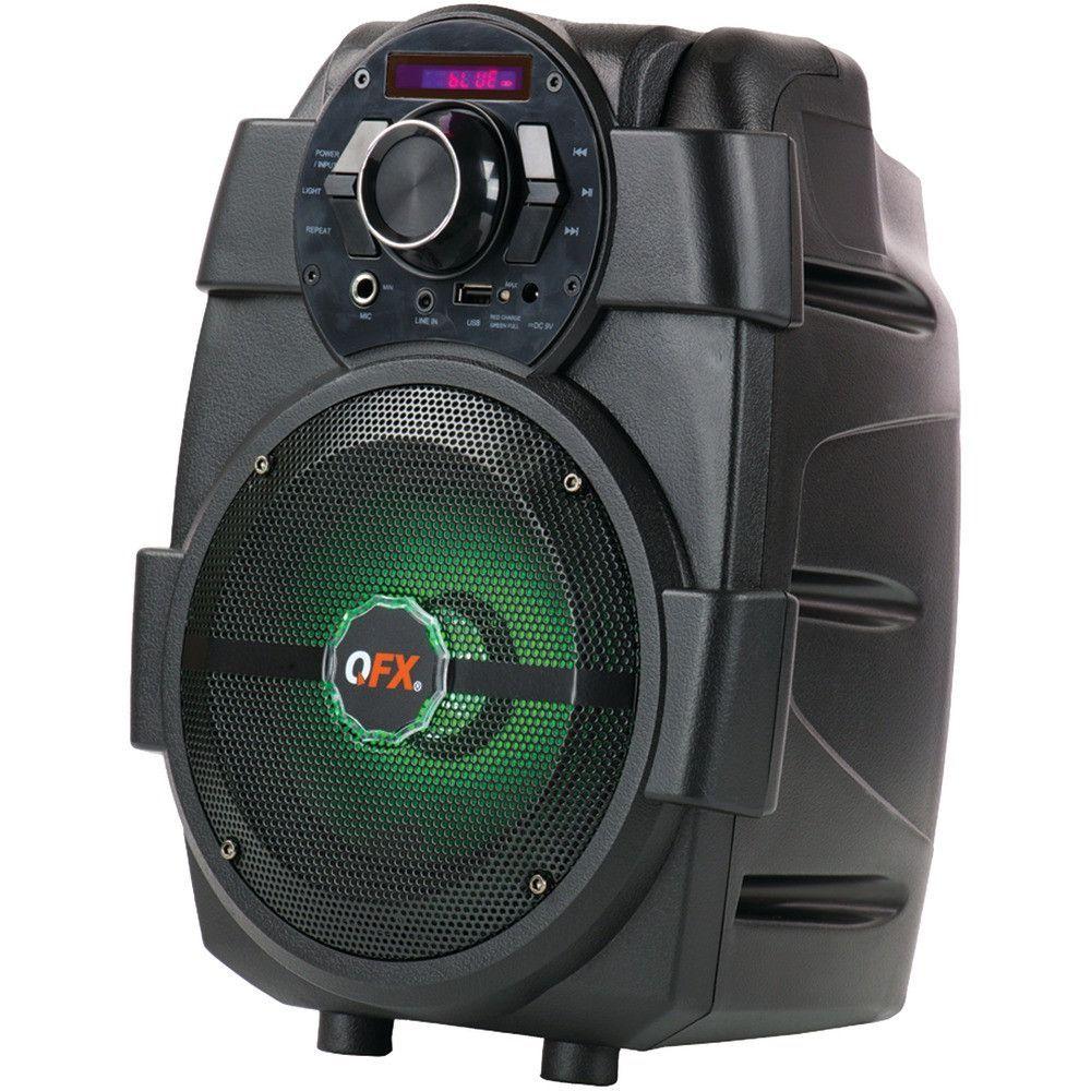 Qfx 1500-watt Pbx-5 Rechargeable Bluetooth Party Speaker