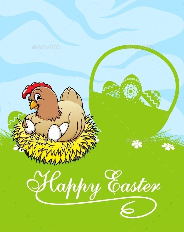 Happy Easter Card  Easter Card Happy Easter And Greeting Card