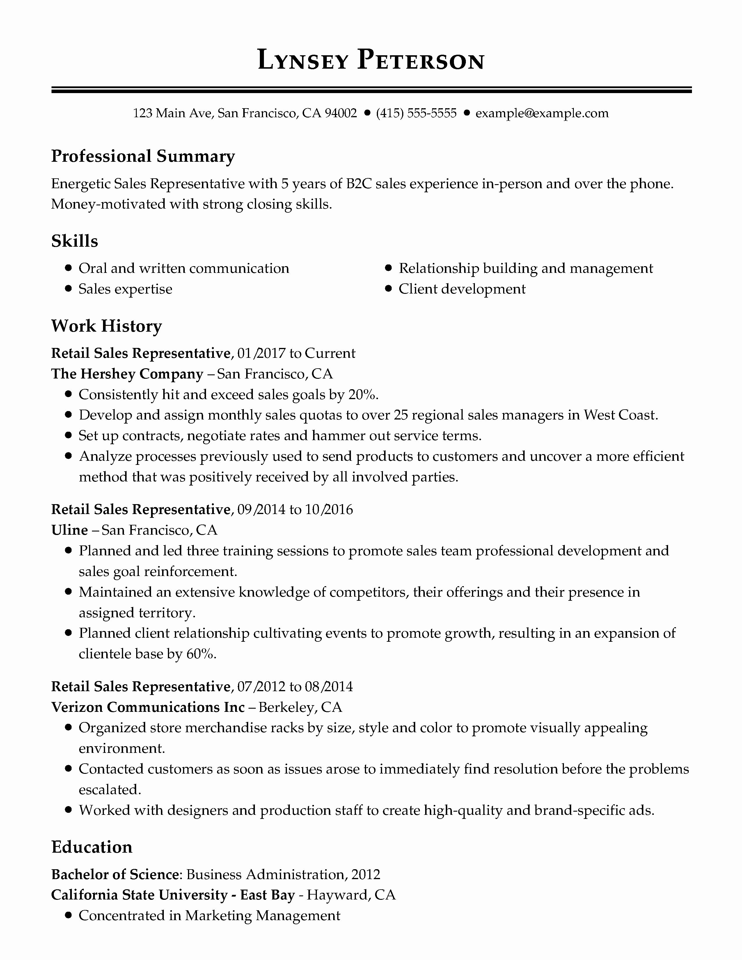 40 Professional Resume Template Free in 2020 Resume