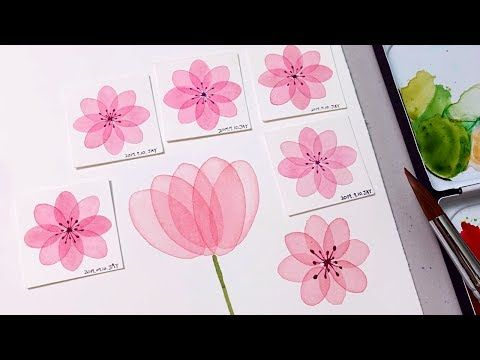 Watercolor Transparent Layering Technique Step By Step Painting