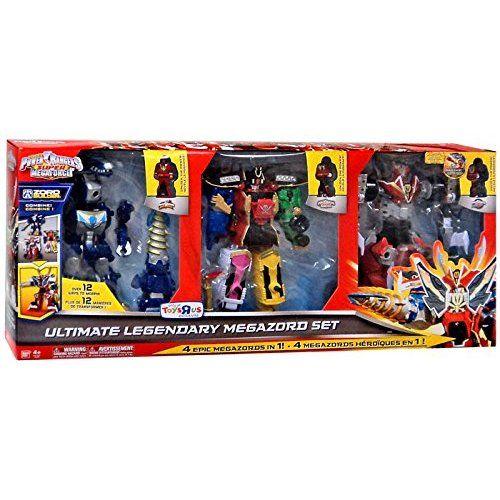 Power Rangers Super Megaforce Uktimate Legendary Megazord Set