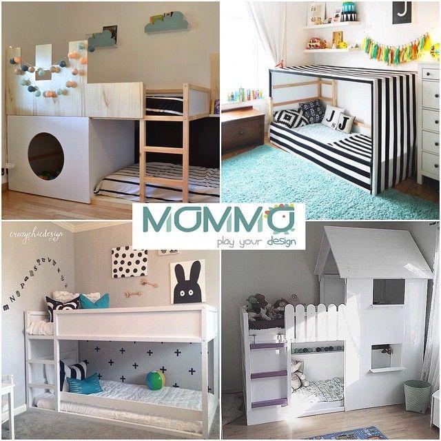 Ikea Letto Kura.Mommo Design 8 Modi Per Personalizzare Il Letto Kura Di