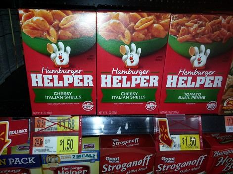 Free Hamburger Meat At Walmart With Purchase Hamburger Helper Hamburger Meat Hamburger