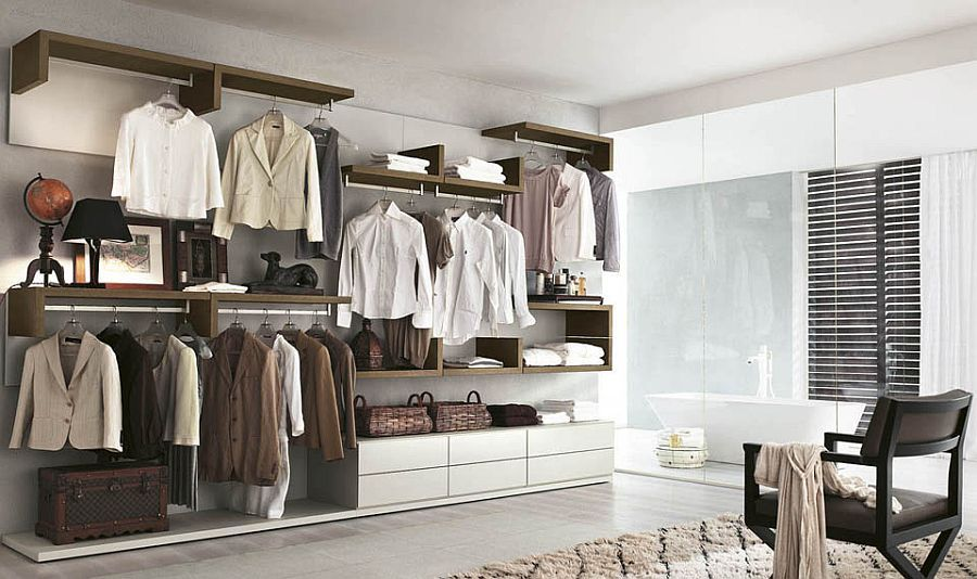 10 Stylish Open Closet Ideas For An Organized Trendy Bedroom Closet Designs Open Closet Walk In Closet Design