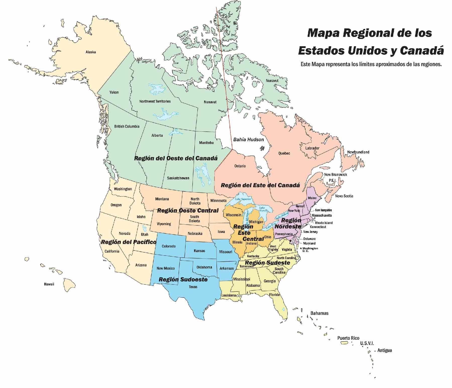Mapa Politico De Los Estados Unidos Valid Mapa De Estados Unidos Y Canada Of Mapa Politico De Los Estados U Mapa De Estados Unidos Mapa Politico Estados Unidos