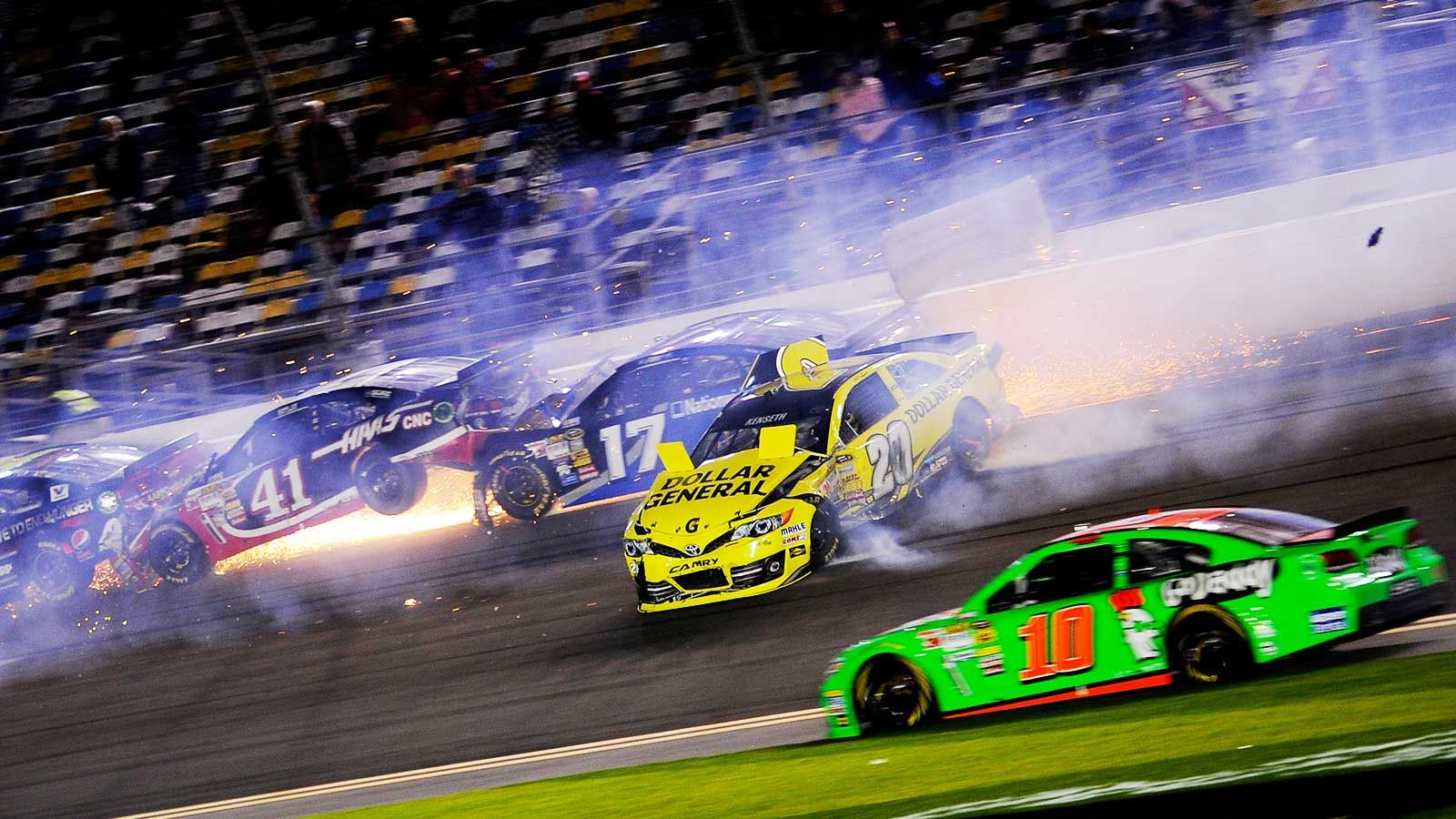 Unlimited excitement The first race of the NASCAR season