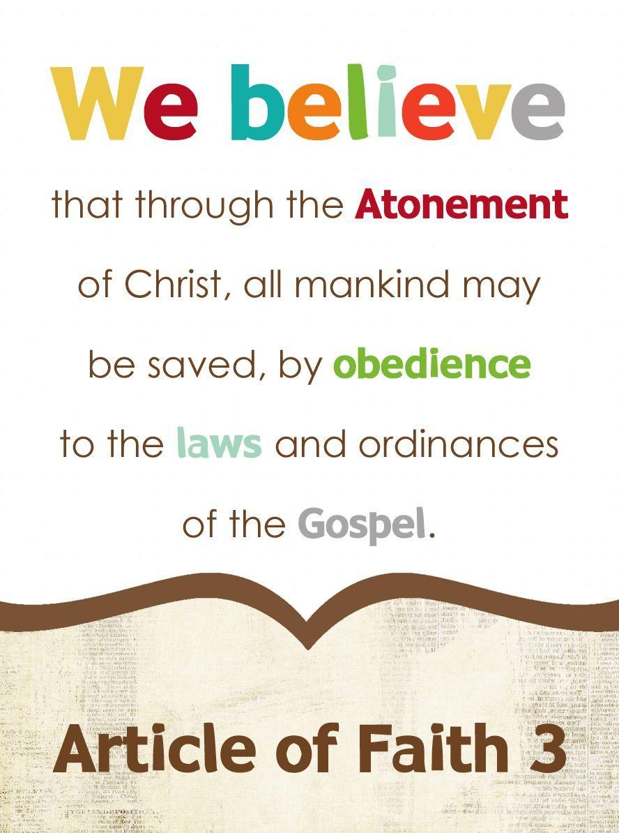 article of faith 6