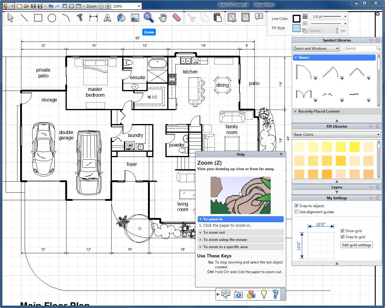 floor plans tips creating autocad house trendy with glass plan home ...