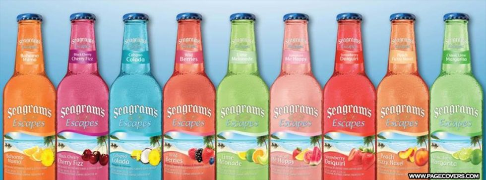 seagrams wine coolers - Google Search | Home Bar ...