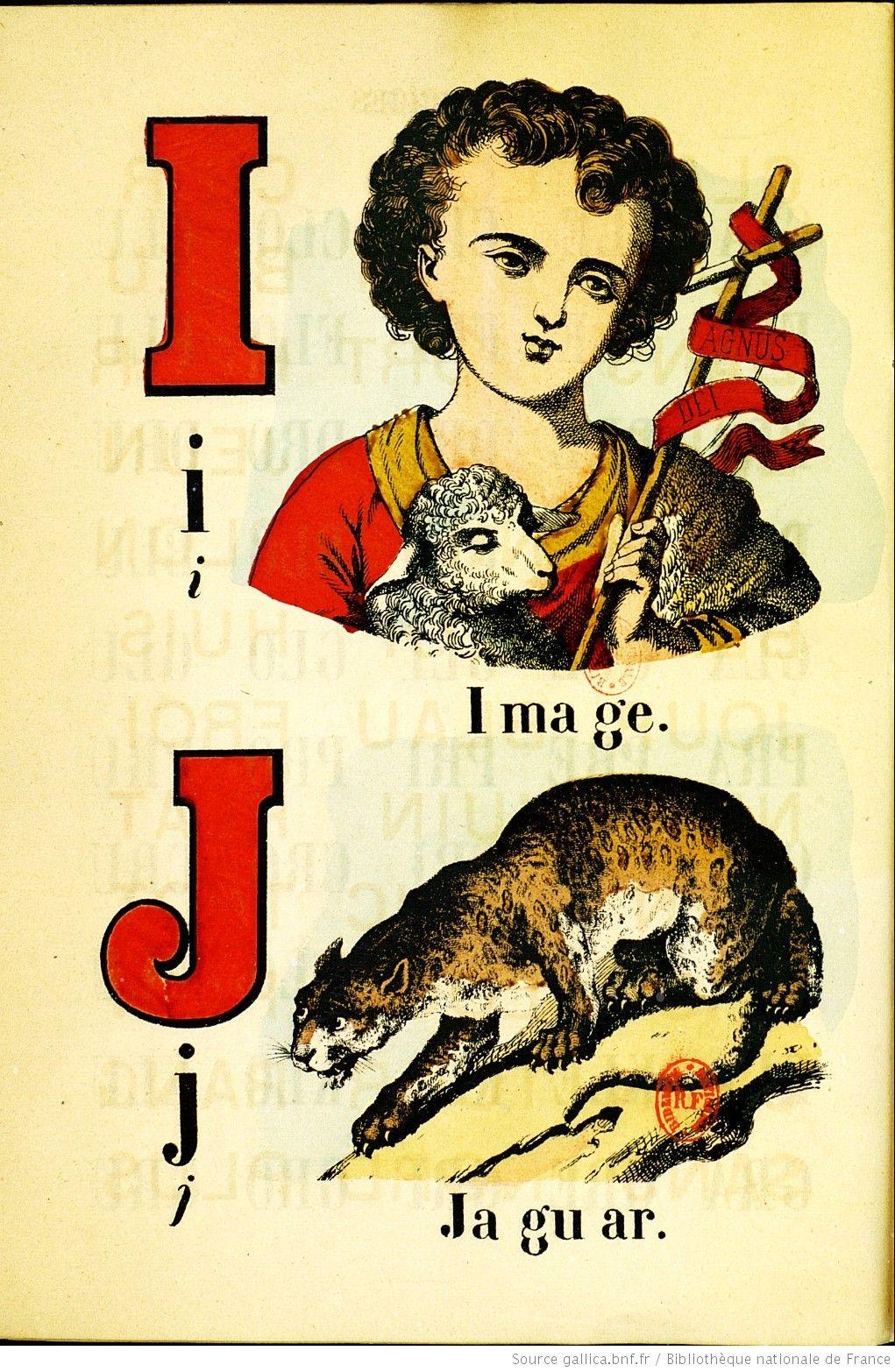 Alphabet amusant illustré   Gallica