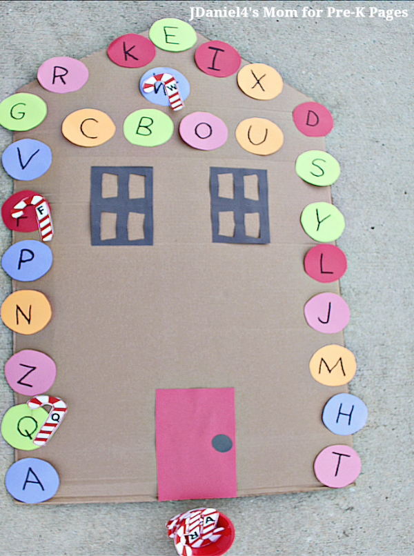Candy Cane Letter Game For Kids Your Kids Will Love This Fun