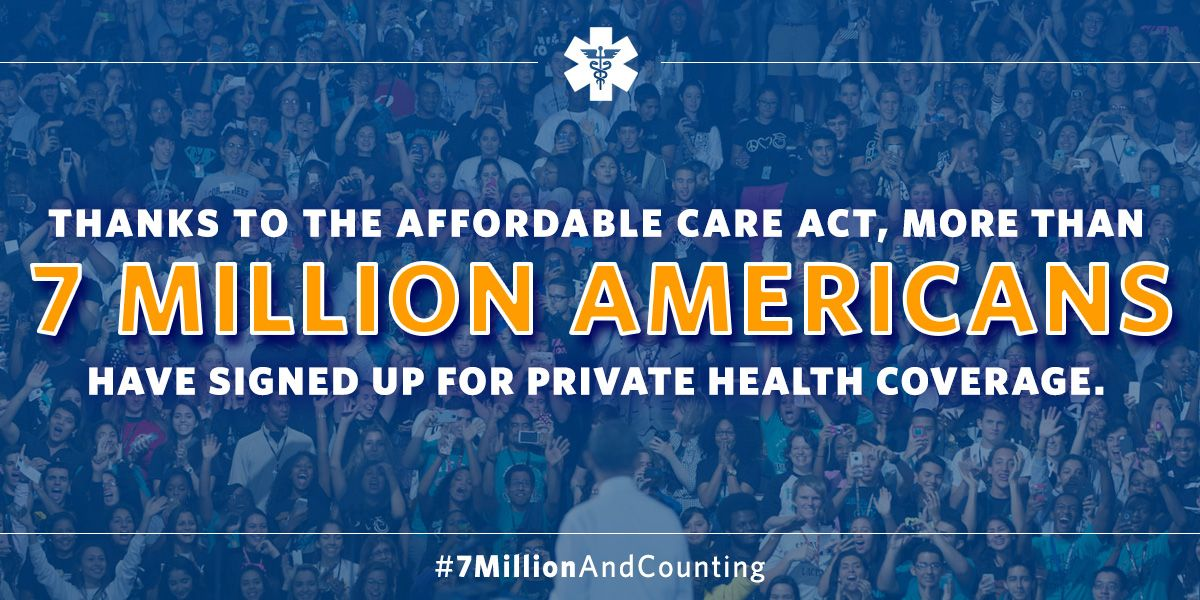 7.1 Million Americans Have Enrolled in Private Health