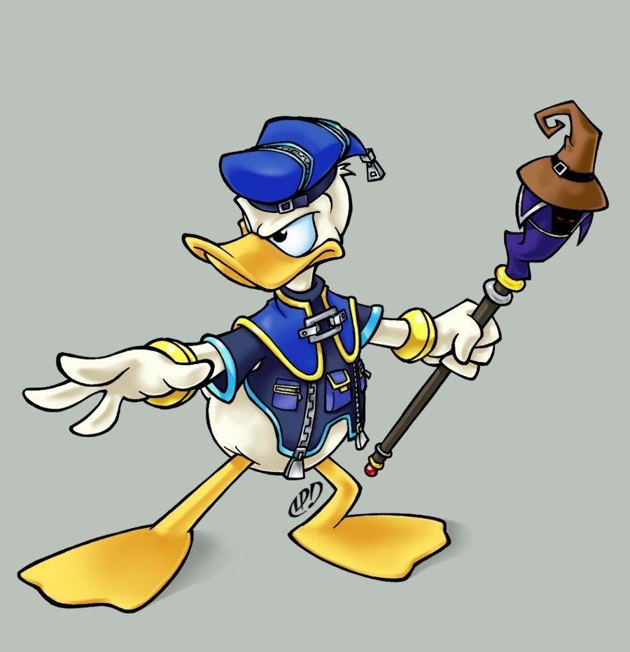 Donald Duck Kingdom Hearts 2 Photo 20593030 Fanpop Kingdom