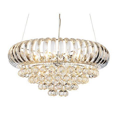 The julia ceiling light in clear chandelier is an elegant centre buy ceiling lights from the home department at debenhams youll find the widest range of ceiling lights products online and delivered to your door aloadofball Choice Image