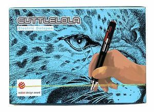 $58  -   World s 1st Electric Drawing Pen Cuttlelola Dotspen for Illustrate Stipple Etc | eBay