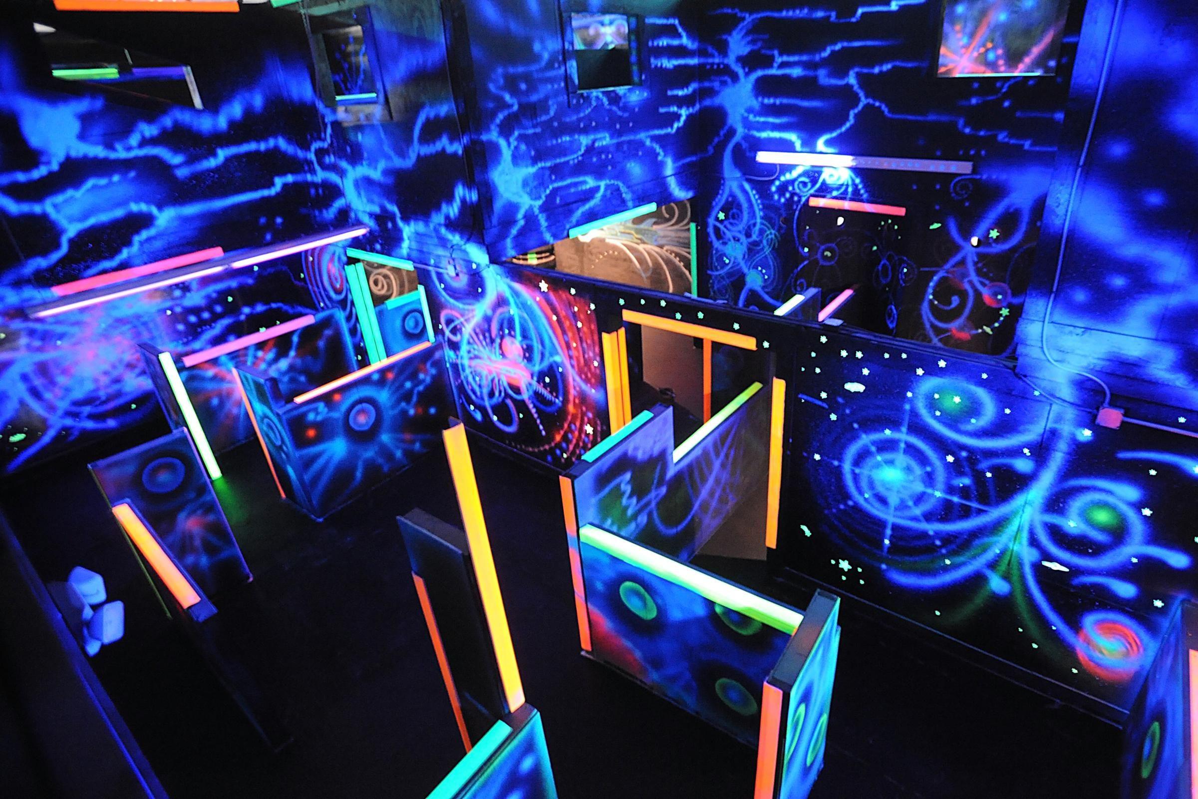 Casino laser tag