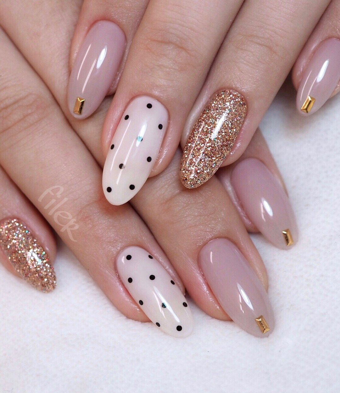 Sweet Pink Nail Design Ideas