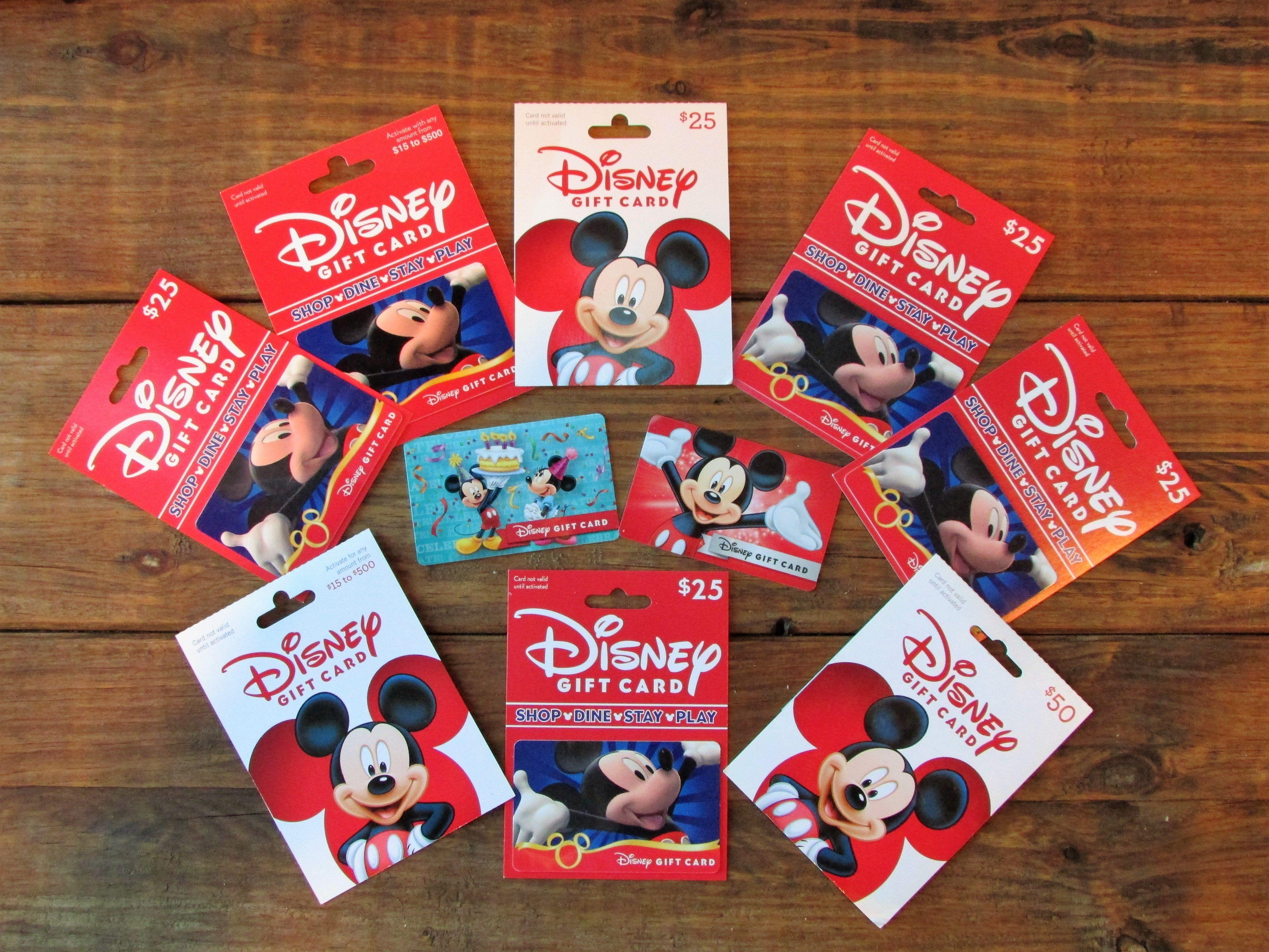 Save 11% on Disney Gift Cards -- #DisneyGiftCards #DisneyWorldDiscounts #DisneylandDiscounts #DisneyOnABudget
