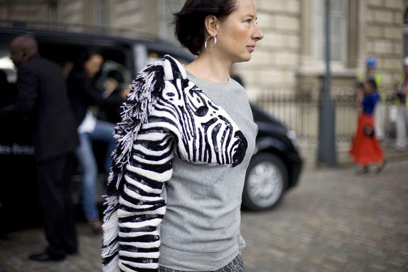 zebra sequins