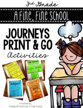 A fine fine school journeys third grade print and go activities a fine fine school journeys third grade print and go activities fandeluxe Image collections