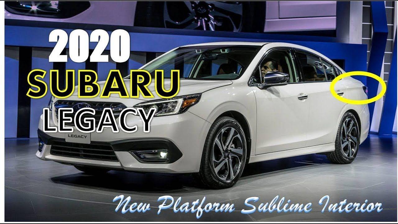 Chicago Auto Show 2020 Dates.Wow 2020 Subaru L Wow 2020 Subaru Legacy Revealed