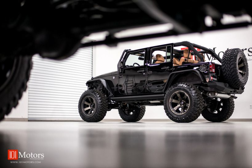 2015 Jeep Wrangler Unlimited Rubicon w/Hardtop 101