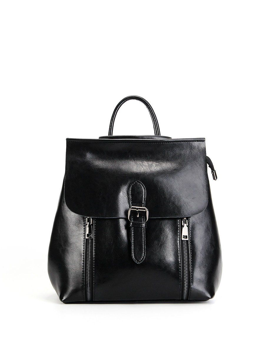 e0f1620d287c Famous brand high quality oil wax cow split leather women backpack for  teenage girls female vintage casual travel shoulder bags