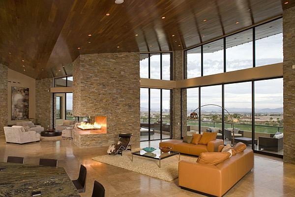 Great Choose Stone And Brick For Interior Design