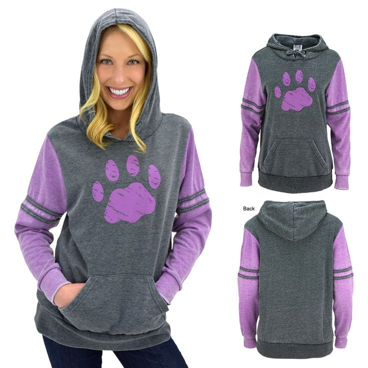 Super soft and incredibly ins-paw-rational, this pullover hoodie has all of your bases covered. Perfect for everyday wear, and bringing about awareness for the noble animal rescue cause.