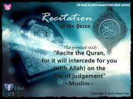 The Importance Of Reciting Quran Inspirational Quotes Quran Recitation Quran