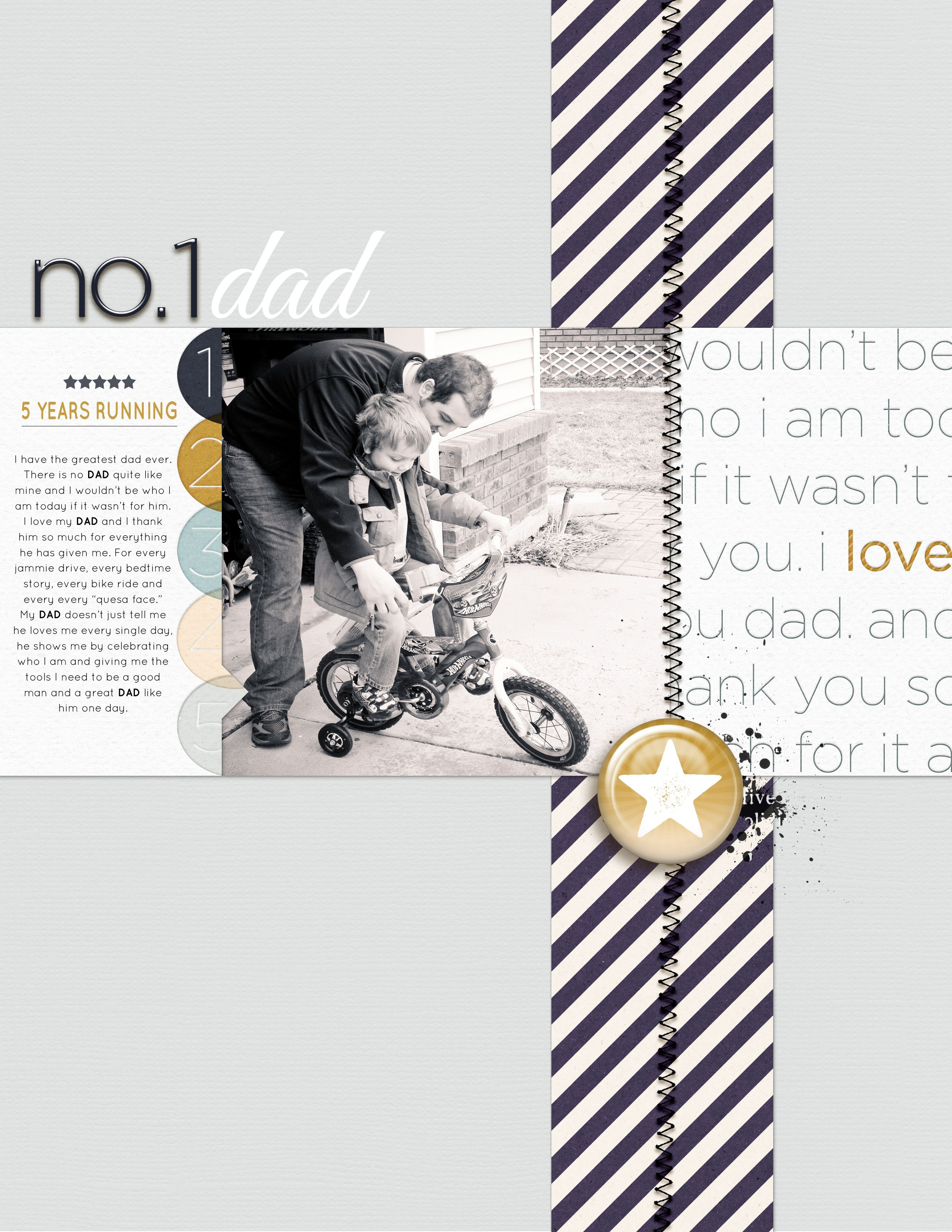 #papercraft #scrapbook #layout    Layout by Amy Kingsford for Simple Scrapper