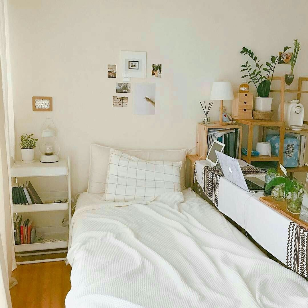 Looking For One Bedroom Apartment: Young Bedroom But The Same Idea Could Apply To A Studio