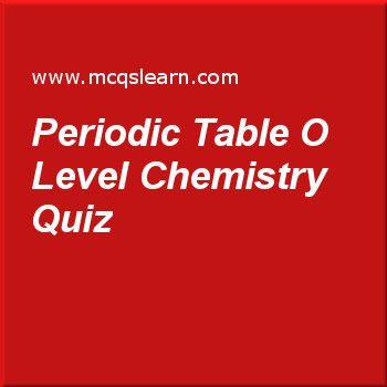 Periodic table o level chemistry quiz o level chemistry pinterest periodic table o level chemistry quiz urtaz Choice Image