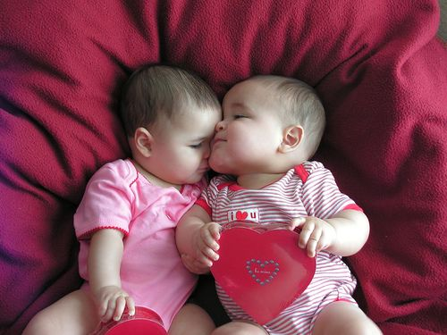 pictures of babies dressed for valentine at yahoo search results - Baby Valentines