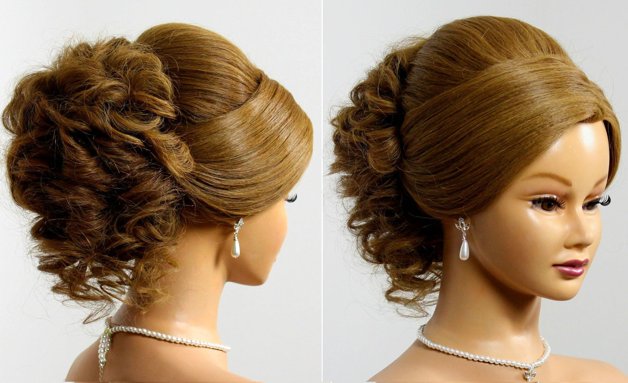 prom wedding updo. hairstyle for long medium hair | hair | pinterest