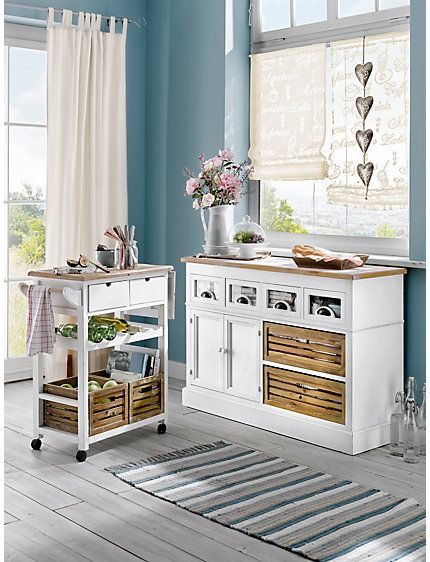 anrichte k che home sweet home pinterest k chenwagen k chenarbeitsplatte und k che. Black Bedroom Furniture Sets. Home Design Ideas