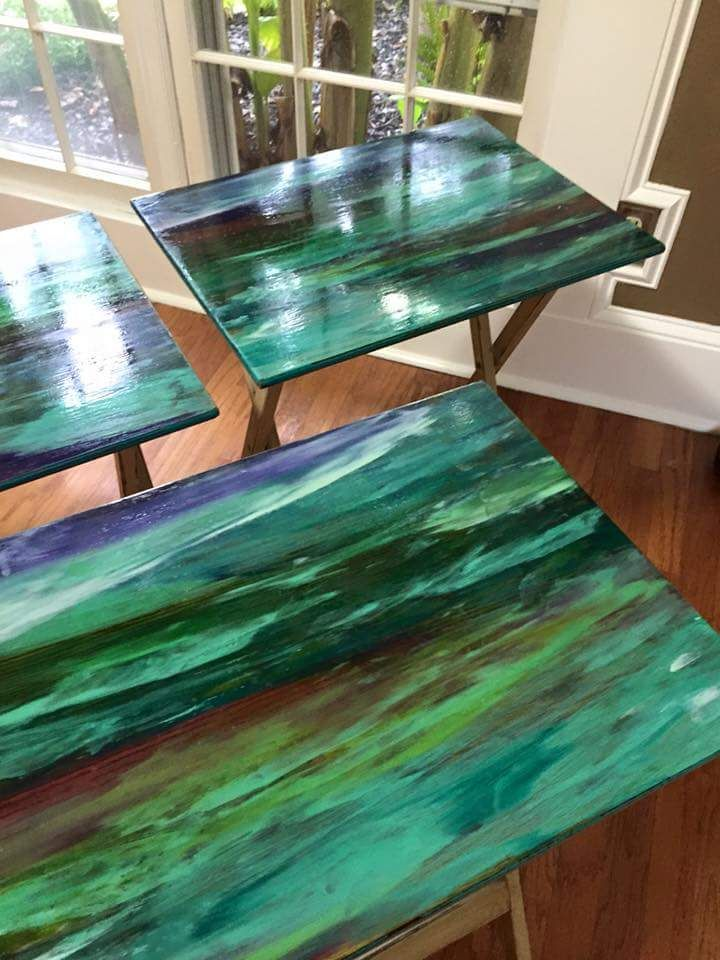 Coffee Table Redo Paint