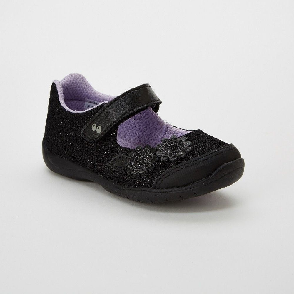 5ca5614e8e4 Toddler Girls  Surprize by Stride Rite Katelyn Mary Jane Shoes - Midnight  Black 12