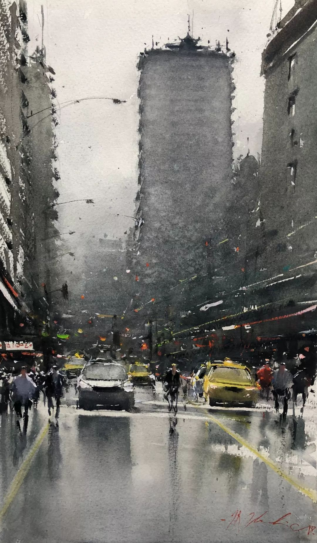 Joseph Zbukvic in 2020 | Watercolor city. Painting still life. Watercolor landscape