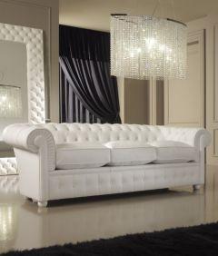 Miraculous Luxury Italian Premium White Leather Sofa In 2019 White Customarchery Wood Chair Design Ideas Customarcherynet